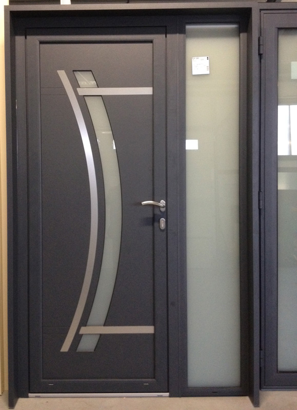 Installation thermique porte d entree alu design for Porte entree alu